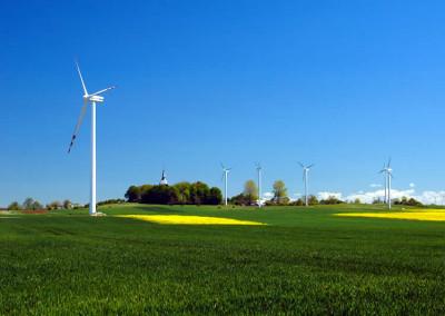 Cisowo- farma wiatrowa