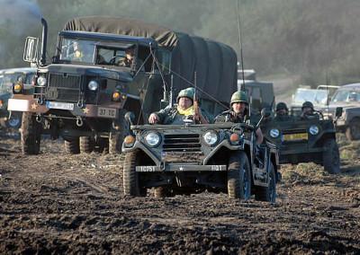 Zlot pojazdów militarnych w Darłówku